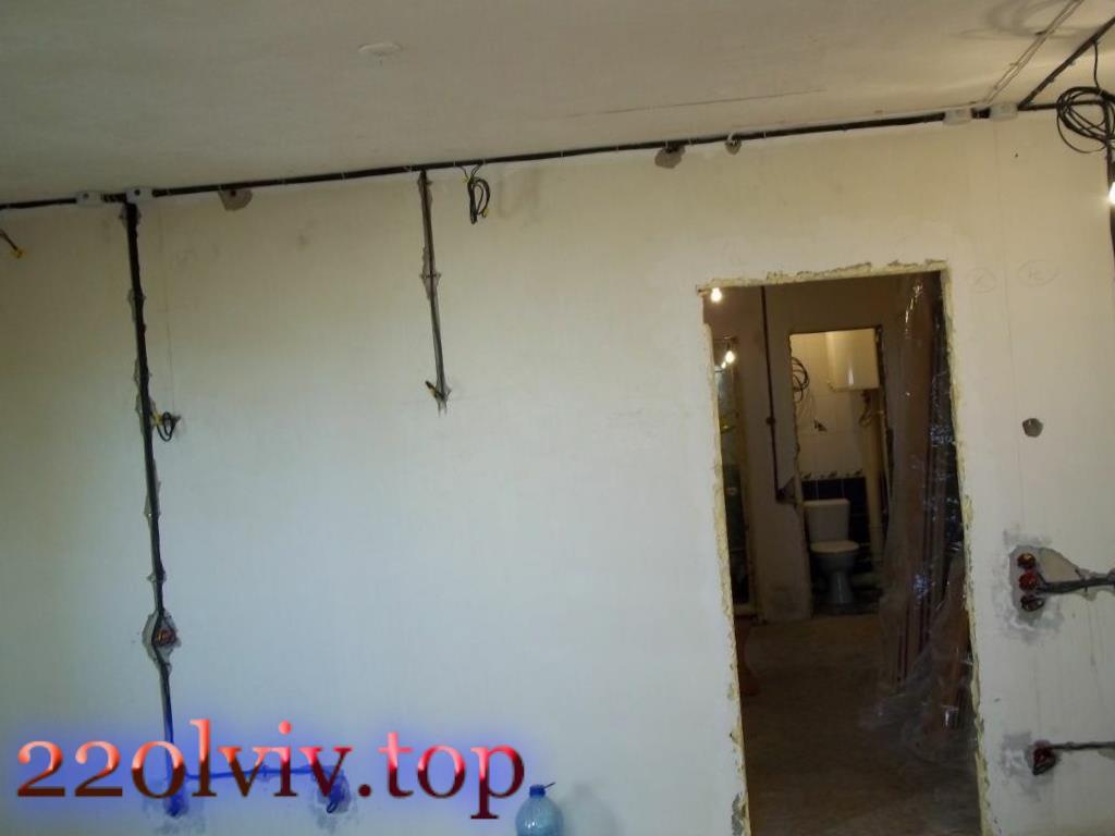 Електрика в квартирі та електропроводка під ключ