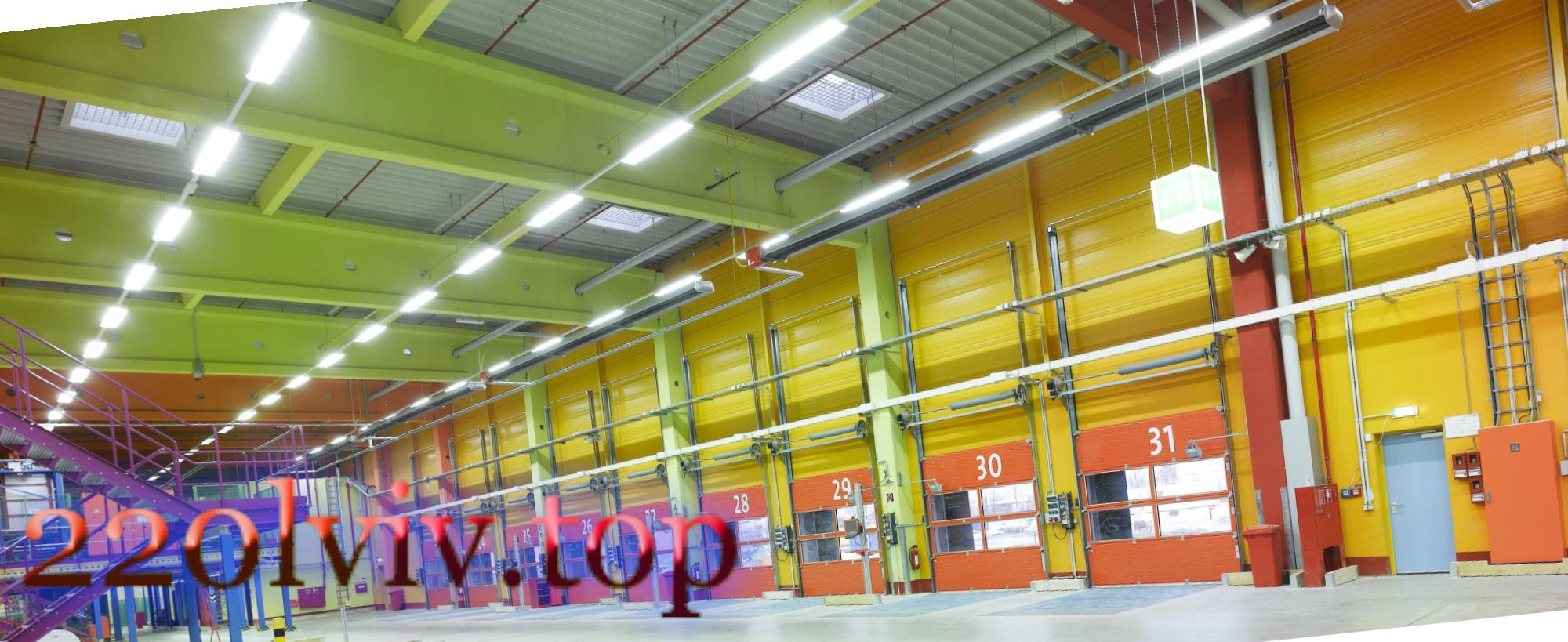 Освітлення виробничих приміщень у Львові